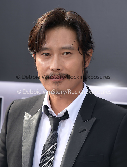 Byung-hun Lee attends The Paramount Pictures L.A. Premiere of Terminator Genisys held at The DolbyTheatre  in Hollywood, California on June 28,2015                                                                               © 2015 Hollywood Press Agency