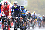 Riders including Yves Lampaert (BEL) tackle the 9 laps of the Harrogate circuit during the Men Elite Road Race of the UCI World Championships 2019 running 261km from Leeds to Harrogate, England. 29th September 2019.<br /> Picture: Eoin Clarke | Cyclefile<br /> <br /> All photos usage must carry mandatory copyright credit (© Cyclefile | Eoin Clarke)