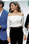 "Queen Letizia of Spain during the presentation of the SM Prizes for Children and Youth Literature ""El Barco de Vapor"" and ""Gran Angular"". April 18, 2017. (ALTERPHOTOS/Acero)"