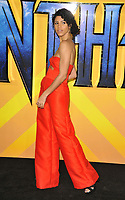 Vick Hope at the &quot;Black Panther&quot; European film premiere, Hammersmith Apollo (Eventim Apollo), Queen Caroline Street, London, England, UK, on Thu 08 February 2018.<br /> CAP/CAN<br /> &copy;CAN/Capital Pictures