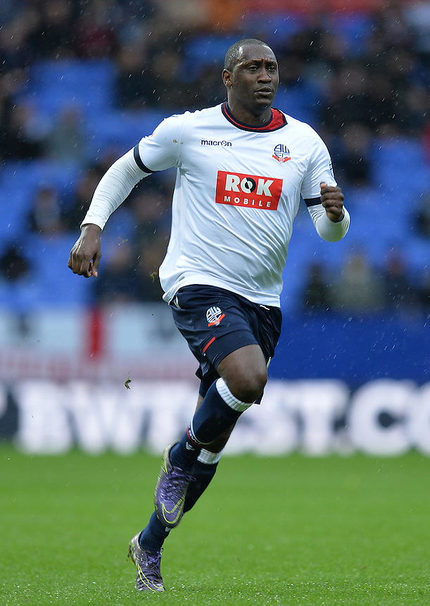 Bolton Wanderers' Emile Heskey<br /> <br /> Photographer Dave Howarth/CameraSport<br /> <br /> Football - The Football League Sky Bet Championship - Bolton Wanderers v Rotherham United - Saturday 6th February 2016 - Macron Stadium - Bolton <br /> <br /> &copy; CameraSport - 43 Linden Ave. Countesthorpe. Leicester. England. LE8 5PG - Tel: +44 (0) 116 277 4147 - admin@camerasport.com - www.camerasport.com