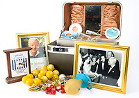 BNPS.co.uk (01202 558833)<br /> Pic:  SAS/BNPS<br /> <br /> His make-up box and mementos...<br /> <br /> Not Free! - 'King of Camp' John Inman's archive to be auctioned.<br /> <br /> Possessions from the estate of the late TV star John Inman have emerged for sale.<br /> <br /> The actor graced the small screen in the hit BBC comedy 'Are You Being Served' for 13 years from 1972 to 1985.<br /> <br /> The auction includes mementos from the sitcom which attracted 22 million viewers at its peak and spawned a film.
