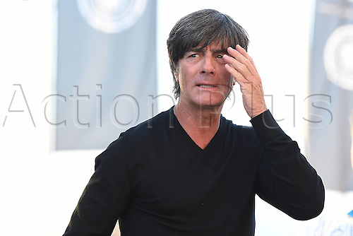 31.08.2016 Moenchengladbach, Germany. International football freindly. Germany versus Finland.  Joachim Low ( trainer )