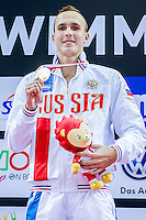 CHUPKOV Anton RUS<br /> 200 Breaststroke Men Final Gold Medal<br /> Day04 28/08/2015 - OCBC Aquatic Center<br /> V FINA World Junior Swimming Championships<br /> Singapore SIN  Aug. 25-30 2015 <br /> Photo A.Masini/Deepbluemedia/Insidefoto
