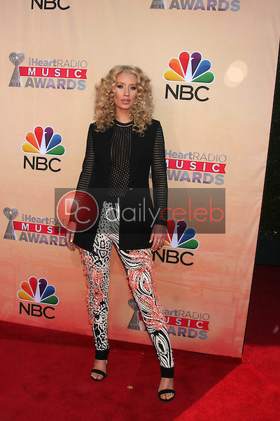 LOS ANGELES - MAR 29:  Iggy Azalea at the 2015 iHeartRadio Music Awards at the Shrine Auditorium on March 29, 2015 in Los Angeles, CA