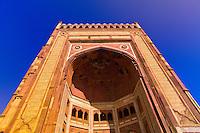 Buland Darwaza (Buland Gate), also known as the Gate of Magnificence, Jama Masjid Mosque, Fatehpur Sikri, Uttar Pradesh, India
