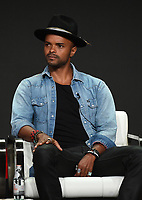 "BEVERLY HILLS - AUGUST 1: Eka Darville onstage during the ""Tell Me A Story"" panel at the CBS All Access portion of the Summer 2019 TCA Press Tour at the Beverly Hilton on August 1, 2019 in Los Angeles, California. (Photo by Frank Micelotta/PictureGroup)"