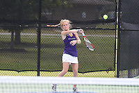 NWA Democrat-Gazette/J.T. WAMPLER Wednesday Oct. 5, 2016 at the 7A-West Tennis Tournament in Bentonville.