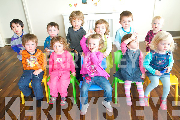 Children at Cahereen Height Childcare Facility in Castleisland celebrated the Down Syndrome Ireland Ice-cream day last week to raise funds for the organisation.