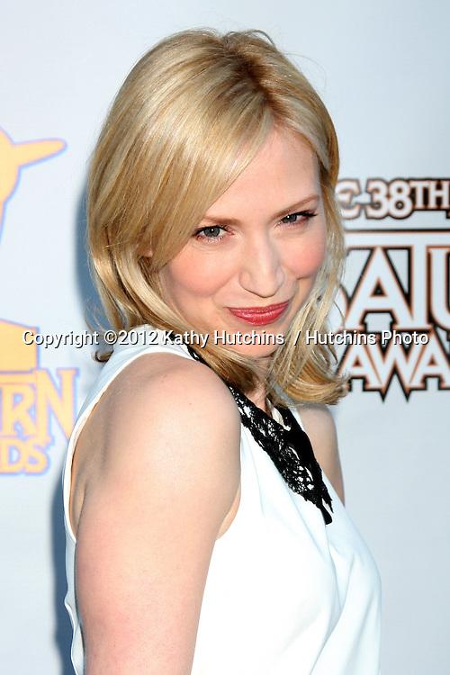 LOS ANGELES - JUL 26:  Beth Riesgraf arrives at the 2012 Saturn Awards at Castaways on July 26, 2012 in Burbank, CA