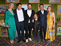 "LOS ANGELES, CA. October 04, 2018: Ashleigh Brewer, Sacha Gervasi, Jamie Dornan, Peter Dinklage, Andy Garcia & Mireille Enos at the Los Angeles premiere for ""My Dinner With Herve"" at Paramount Studios.<br /> Picture: Paul Smith/Featureflash"