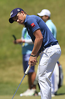 Paul Dunne (IRL) on the practice green during Friday's Round 2 of the 117th U.S. Open Championship 2017 held at Erin Hills, Erin, Wisconsin, USA. 16th June 2017.<br /> Picture: Eoin Clarke | Golffile<br /> <br /> <br /> All photos usage must carry mandatory copyright credit (&copy; Golffile | Eoin Clarke)