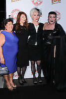 HOLLYWOOD, CA - OCTOBER 18: Cassandra Peterson, Julie Newmar attends the launch party for Cassandra Peterson's new book 'Elvira, Mistress Of The Dark' at the Hollywood Roosevelt Hotel on October 18, 2016 in Hollywood, California. (Credit: Parisa Afsahi/MediaPunch).