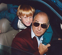 Jimmy Buffett and son Cameron 1999<br /> Photo to By John Barrett/PHOTOlink/MediaPunch