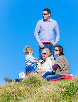 Joh Griggs and Family at Long Reef Pt