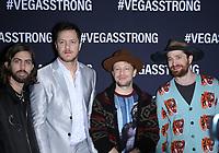 01 December 2017 - Las Vegas, NV -  Imagine Dragons.  Vegas Strong Benefit Concert Red Carpet Arrivals at T Mobile Arena. Photo Credit: MJT/AdMedia