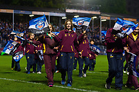 A general view of the half-time pitch parade. Gallagher Premiership match, between Bath Rugby and Exeter Chiefs on October 5, 2018 at the Recreation Ground in Bath, England. Photo by: Patrick Khachfe / Onside Images