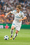 Real Madrid's Luka Modric during UEFA Champions League match between Real Madrid and Apoel at Santiago Bernabeu Stadium in Madrid, Spain September 13, 2017. (ALTERPHOTOS/Borja B.Hojas)