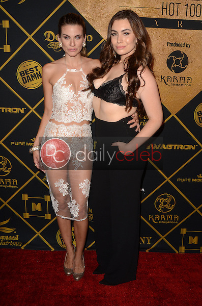 Rachel McCord, Sophie Simmons<br /> at the 2016 Maxim Hot 100 Party, Hollywood Palladium, Hollywood, CA 07-30-16<br /> David Edwards/DailyCeleb.com 818-249-4998