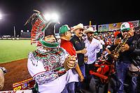 Color Mexicano , durante el  segundo d&iacute;a de actividades de la Serie del Caribe con el partido de beisbol  Tomateros de Culiacan de Mexico  contra los Alazanes de Gamma de Cuba en estadio Panamericano en Guadalajara, M&eacute;xico,  s&aacute;bado 3 feb 2018. <br /> (Foto  / Luis Gutierrez)
