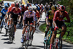 The peloton including Polka Dot Jersey Tim Wellens (BEL) Lotto-Soudal in action during Stage 10 of the 2019 Tour de France running 217.5km from Saint-Flour to Albi, France. 15th July 2019.<br /> Picture: ASO/Pauline Ballet | Cyclefile<br /> All photos usage must carry mandatory copyright credit (© Cyclefile | ASO/Pauline Ballet)