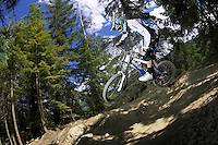 Rob Warner ..Whistler , British Columbia , Canada     July 2007..pic copyright Steve Behr / Stockfile
