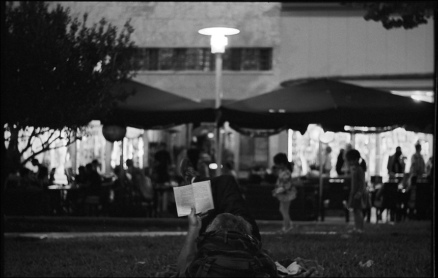 Lincoln Road Night<br /> From &quot;Miami Nights&quot; series<br /> Miami Beach, Feb 2011