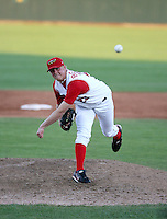 Buddy Boshers / Orem Owlz, Angels 4th round draft choice, pitching against the Missoula Osprey at Orem, UT - 08/11/2008..Photo by:  Bill Mitchell/Four Seam Images..