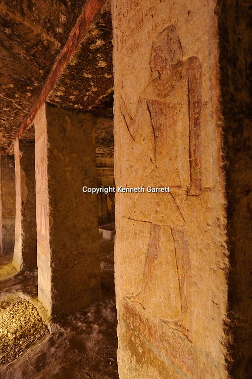 Zahi Hawass Secret Egypt Travel Guide; Egypt; archaeology; Asyut, Meir, Tombs, Ni Ankh Pepi Kem, Middle Kingdom