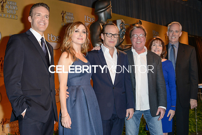 WEST HOLLYWOOD, CA - DECEMBER 11: 20th Annual Screen Actors Guild Awards Nominations Announcement held at the Pacific Design Center on December 11, 2013 in West Hollywood, California. (Photo by Cliff Robertson/Celebrity Monitor)