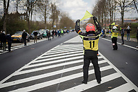 road marchals <br /> <br /> 74th Dwars door Vlaanderen 2019 (1.UWT)<br /> One day race from Roeselare to Waregem (BEL/183km)<br /> <br /> ©kramon