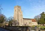 Village parish church of Saints Peter and Paul, Pettistree, Suffolk, England, UK