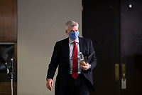 United States Senator Bill Cassidy (Republican of Louisiana) departs the Senate GOP Policy Luncheons at the Hart Senate Office Building  in Washington D.C., U.S., on Wednesday, May 20, 2020.  Credit: Stefani Reynolds / CNP/AdMedia