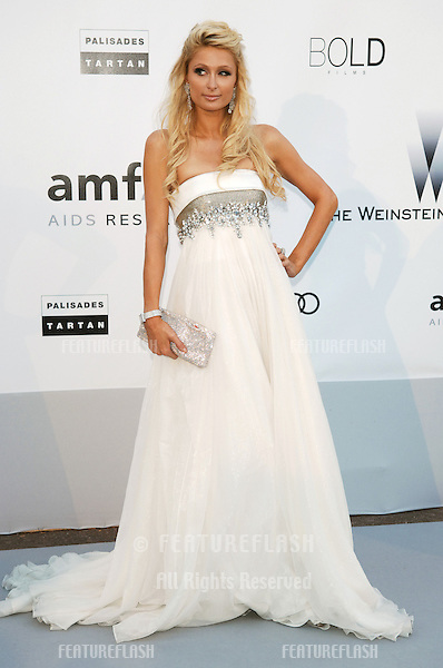 Paris Hilton  at the amfAR Cinema Against AIDS Gala at the Hotel du Cap, Antibes..May 20, 2010  Antibes, France.Picture: Paul Smith / Featureflash