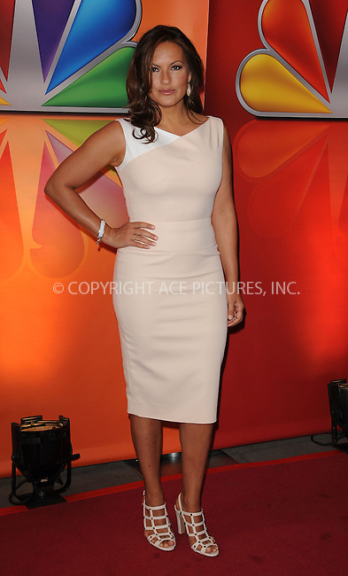 WWW.ACEPIXS.COM . . . . . ....May 14 2012, New York City....Mariska Hargitay at NBC's Upfront Presentation at Radio City Music Hall on May 14, 2012 in New York City. ....Please byline: KRISTIN CALLAHAN - ACEPIXS.COM.. . . . . . ..Ace Pictures, Inc:  ..(212) 243-8787 or (646) 679 0430..e-mail: picturedesk@acepixs.com..web: http://www.acepixs.com