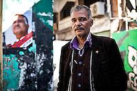 Adel Bakri, president des travailleurs independants a Port Said.