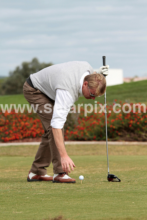 **ALL ROUND PICTURES FROM SOLARPIX.COM**                                             **WORLDWIDE SYNDICATION RIGHTS EXCEPT PORTUGAL OR SPAIN - NO SYNDICATION IN PORTUGAL OR SPAIN**                                                                                 Caption: Hermes EAGLES Prasidenten Golf Cup in the Algarve, Portugal. 13 November 2010                                                                               This pic:  Mika Hakinnen                                                                                            JOB REF: 12479 NPP       DATE: 15_11_2010                                                          **MUST CREDIT SOLARPIX.COM OR DOUBLE FEE WILL BE CHARGED**                                                                      **MUST AGREE FEE BEFORE ONLINE USAGE**                               **CALL US ON: +34 952 811 768 or LOW RATE FROM UK 0844 617 7637**