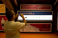 Sao Paulo_SP, Brasil...Museu do futebol no estadio do Pacaembu...The football museum in the Pacaembu Stadium...Foto: MARCUS DESIMONI / NITRO