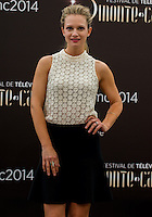 Andrea Joy Cook attends Photocall - 54th Monte-Carlo TV Festival - Monaco