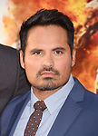 HOLLYWOOD, CA - MARCH 20: Actor Michael Peña arrives at the premiere of Warner Bros. Pictures' 'CHiPS' at TCL Chinese Theatre on March 20, 2017 in Hollywood, California.
