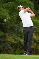 Brooks Koepka (USA) watches his tee shot on 13 during round 2 of the 2019 Tour Championship, East Lake Golf Course, Atlanta, Georgia, USA. 8/23/2019.<br /> Picture Ken Murray / Golffile.ie<br /> <br /> All photo usage must carry mandatory copyright credit (© Golffile | Ken Murray)