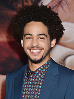 WESTWOOD, CA - FEBRUARY 05: Jorge Lendeborg, Jr. attends the Premiere Of 20th Century Fox's 'Alita: Battle Angel' at Westwood Regency Theater on February 05, 2019 in Los Angeles, California.<br /> CAP/ROT/TM<br /> &copy;TM/ROT/Capital Pictures