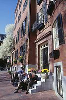 Louisburg Square, Boston, MA