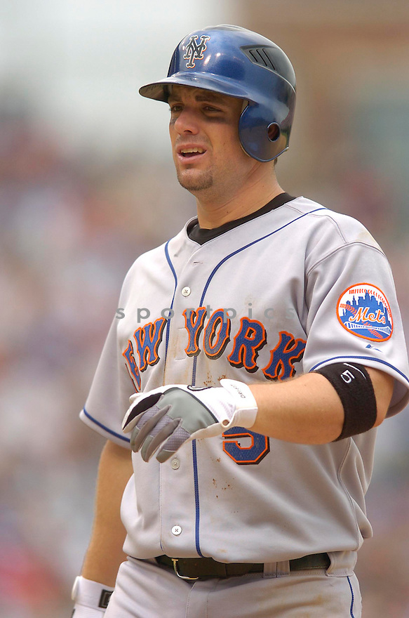David Wright, of the New York Mets, in action against the Chicago Cubs on July 14, 2006 in Chicago...Mets win 6-3..Chris Bernacchi/ SportPics