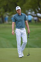 Jordan Spieth (USA) after barely missing his putt on 1 during day 1 of the Valero Texas Open, at the TPC San Antonio Oaks Course, San Antonio, Texas, USA. 4/4/2019.<br /> Picture: Golffile | Ken Murray<br /> <br /> <br /> All photo usage must carry mandatory copyright credit (© Golffile | Ken Murray)