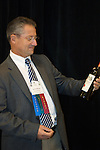 Xavier Milhade of Chateau Boutisse, a St. Emilion Grand Cru and Chateau Recougne and Chateau Montcabrier, Bourdeaux Superieur2010 American Wine Society Conference.
