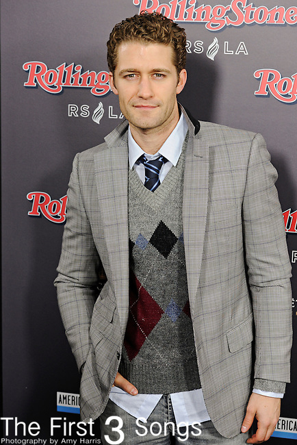 "Actor Matthew Morrison, presently appearing in the television series ""Glee"", attends the 2010 American Music Awards VIP After Party hosted by Rolling Stone Magazine at the Rolling Stone Restaurant & Lounge in Los Angeles, California."