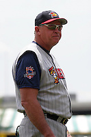 Toledo Mudhens Larry Parrish during an International League game at Dunn Tire Park on June 8, 2006 in Buffalo, New York.  (Mike Janes/Four Seam Images)