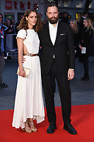 "director, Yorgos Lanthimos and wife, Arianne Labed<br /> arriving for the London Film Festival 2017 screening of ""Killing of a Sacred Deer"" at Odeon Leicester Square, London<br /> <br /> <br /> ©Ash Knotek  D3332  12/10/2017"
