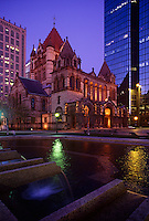 Trinity Church National Historic landmark Boston